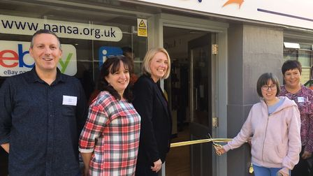 Nansa, one of Norfolk's leading disability empowerment charities has opened a new flagship store in