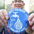 Official launch of 'Refill Norwich' an exciting initiative in Norwich promoting free tap water refi