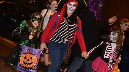 The Spooky City Halloween parade 2016. Picture: Sonya Duncan