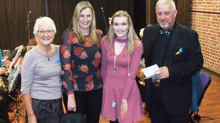 A variety show raised over £800 for Swaffham teenager Sophie Burke. Picture: Swaffham Lions