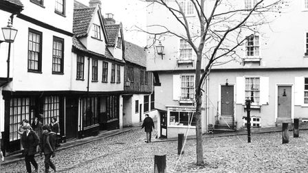 Elm HillDated, 26th February 1983. Picture: Archant Library