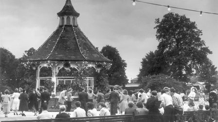 Dancing at Chapelfield Gardens, undated. Picture: Archant Library