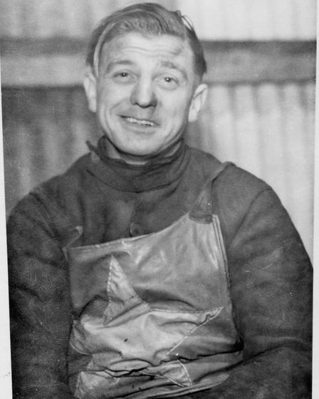 The Mighty Atom. Len Read over the years when he rode for Norwich, Plymouth and Liverpool. Photos: M