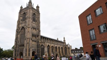 George and Margaret Savage would like to see more churches open to the public, like St Peter Mancrof