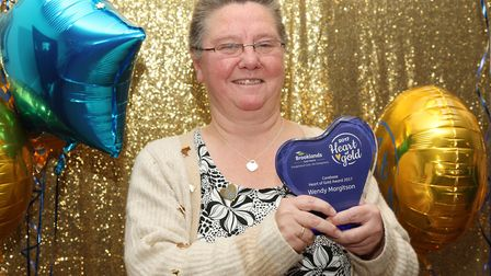 Heart of Gold winner 2017, Wendy Margitson. Picture: Christopher Dunican