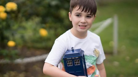 Taylor loves Doctor Who (Photo: The Kerri Parker Academy)