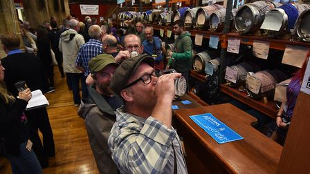The 40th Norwich Beer Festival which took place in October 2017. Picture: ANTONY KELLY