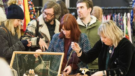 Enthusiasts enjoy the Vinatage Fair at The Open Venue.Picture: Nick Butcher