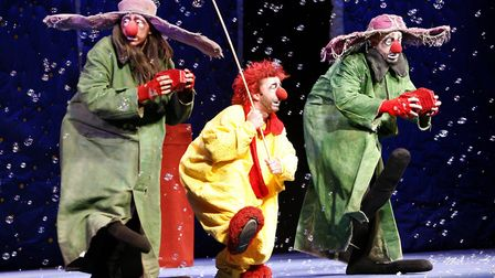 Slava's Snow Show returns to Norwich Theatre Royal from November 21-25. Photo: Submitted