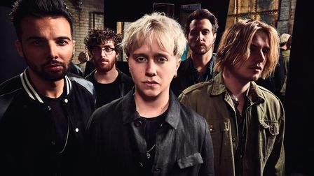 Nothing But Thieves. Photo: Dean Chalkley