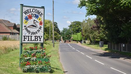 Judging for Anglia in Bloom at Filby. Picture : ANTONY KELLY