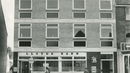 New premises for Lloyds Bank in Watton, 1964. Picture: Archant library