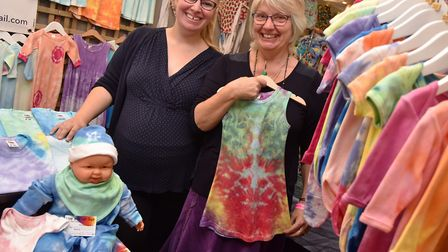 The Parent and Baby Show at Carrow RoadLive and Let Dye, Amy Marshall and Bryony SeppingsByline: Son