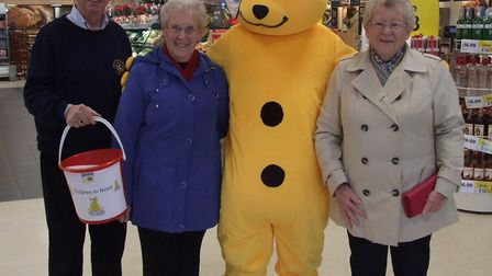 Swaffham Lions brought a very special guest to Tesco on Friday. Photo: Dennis Tallon