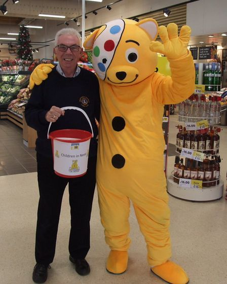 They raised 492 for BBC Children in Need. Photo: Dennis Tallon