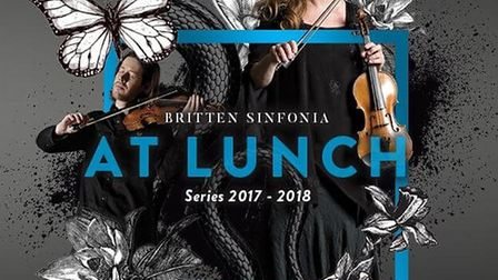 Britten Sinfonia At Lunch series brings four concerts to Norwich. Photo: Submitted