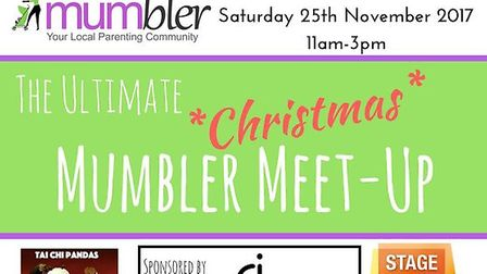A promotional flyer for the Ultimate Christmas Mumbler Meet-Up. Picture: Norwich Mumbler