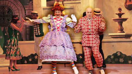 Richard Gauntlett and Stephen Godward in Norwich Theatre Royal's Sleeping Beauty: Submitted