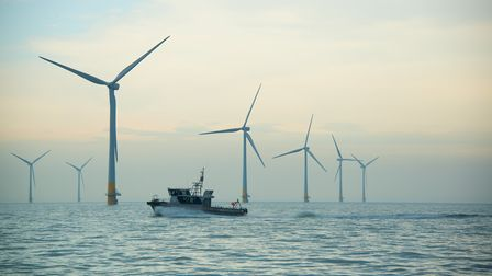 One of Vattenfall's windfarms, at Kentish Flats. Pic: Robin Dawe/ Perfectly Clear Marketing