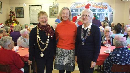 MP Liz Truss was a special guest at the Lions Christmas lunch, Picture: Swaffham Lions
