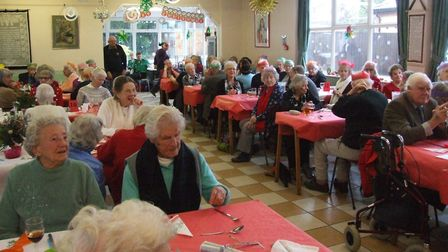 The Lions Christmas lunch, Picture: Swaffham Lions