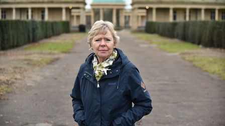 City councillor Judith Lubbock is questioning whether an avenue of trees in Eaton Park all had to be