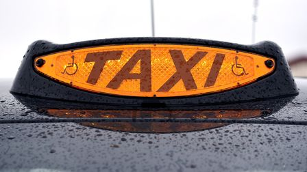 The cost of getting a taxi in Norwich could be about to go up for the first time in four years. Pict