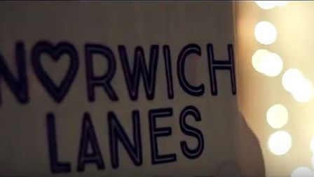 The Norwich Lanes have produced their own Christmas advert this year (Picture: Eastkin Creative)