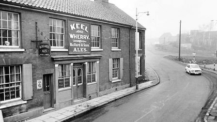 Norwich -- PubsThe Keel and Wherry stood at 214 King Street pictured just before it was demolished f