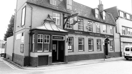 Norwich -- PubsThe Nags Head, King StreetDated -- 25 August 1993Photograph C1912