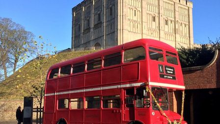 The 1965 London Transport Routemaster 64-seater double-decker bus. Picture: Courtesy City Sightseein