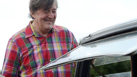 Stephen Fry will be at the UEA on February 14. (Picture: Matthew Usher)