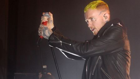 Frank Carter and the Rattlesnakes at The Nick Rayns LCR. Photo: Sam Dawes
