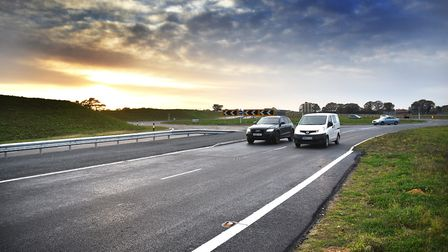 Part of the NDR is open to traffic.Picture: ANTONY KELLY