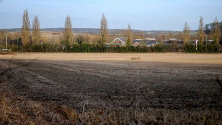 The proposed site for a new industrial estate at Keswick.Picture: ANTONY KELLY