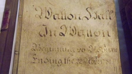 The Watton Museum are appealing for funds to digitise the historic Court Baron Minute books. Photo:
