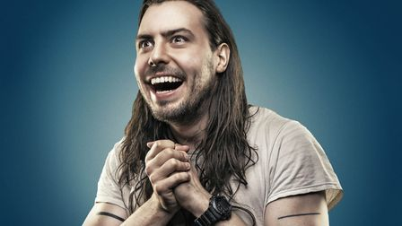 Andrew W.K. will play the Waterfront, Norwich, in April. Photo: Chuff Media