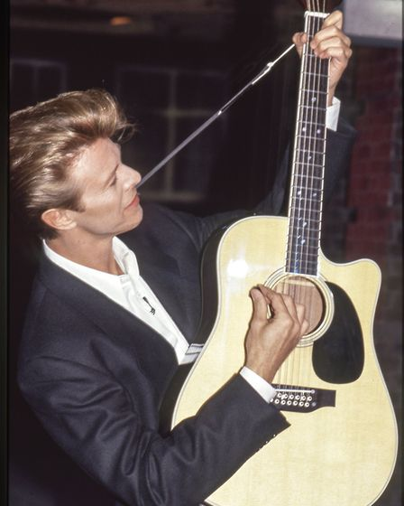 Unseen photo of David Bowie featured in exhibition in Norwich. Photo: David Koppel/Pap Art