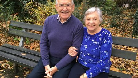 Don and Jean Nichols, 81, from Norwich, who are celebrating their diamond wedding anniversary on De