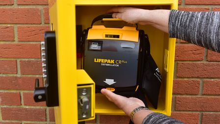 A call has been made for more awareness about defibrillators.PHOTO: Nick Butcher