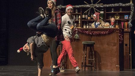 The Lock In 'Christmas Carol' is at Norwich Playhouse on December 9. Photo: Bryan Ledgard