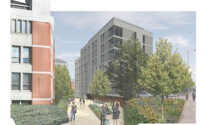 An artist's impression of the St Catherine's Yard development. Pic: Lanpro.