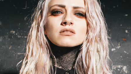 Sinead La Belle from the Courtesans who will be performing at the Waterfront in Norwich on December
