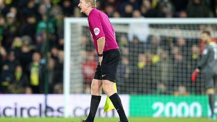 Assistant Referee Mark Jones has to leave the match through injury and is replaced by Fourth Officia