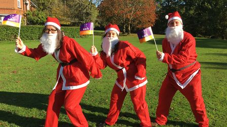 East Anglia's Children's Hospices will be hosting a fundraising Santa fun run at Eaton Park, Norwich