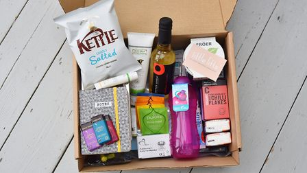 The Little Lifts comfort box is the idea of Oa Hackett from Bawburgh who came up with the idea after