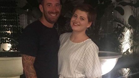 Norwich couple Callum Edwards and Evie Wolltorton are on holiday in Bali, where a major volcanic eru