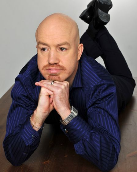 Former Mock The Week regular Andy Parsons is coming to Norwich Playhouse. Photo: Submitted
