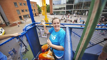 Becky Herdman, who is fundraising for the Big C. Photo: Julian Claxton Photography/Big C