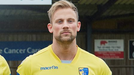 Sam Watts struck a late equaliser for Norwich United at Aveley. Picture: Norwich United